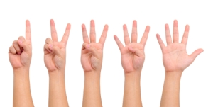 5 Hands